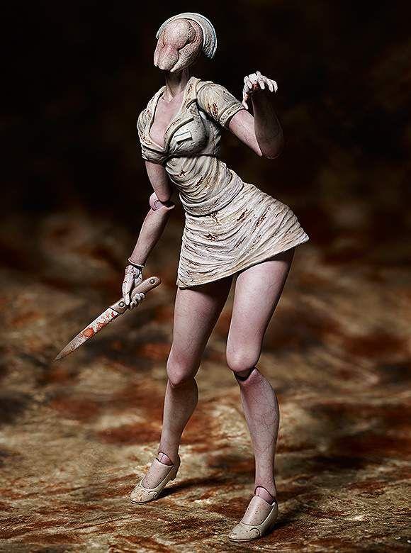 Figma Silent Hill Red Pyramd Thing Figure Bubble Head Nurse Action Figure Toy Figurki akcji i z filmów