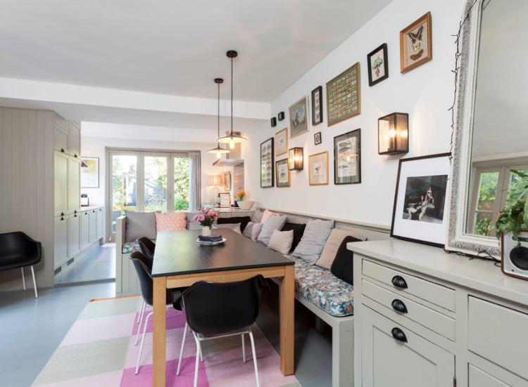 Wie Breit Teppich Unter Esstisch Stühle Sitzbank Kombination Landhausstil  #interiors #design