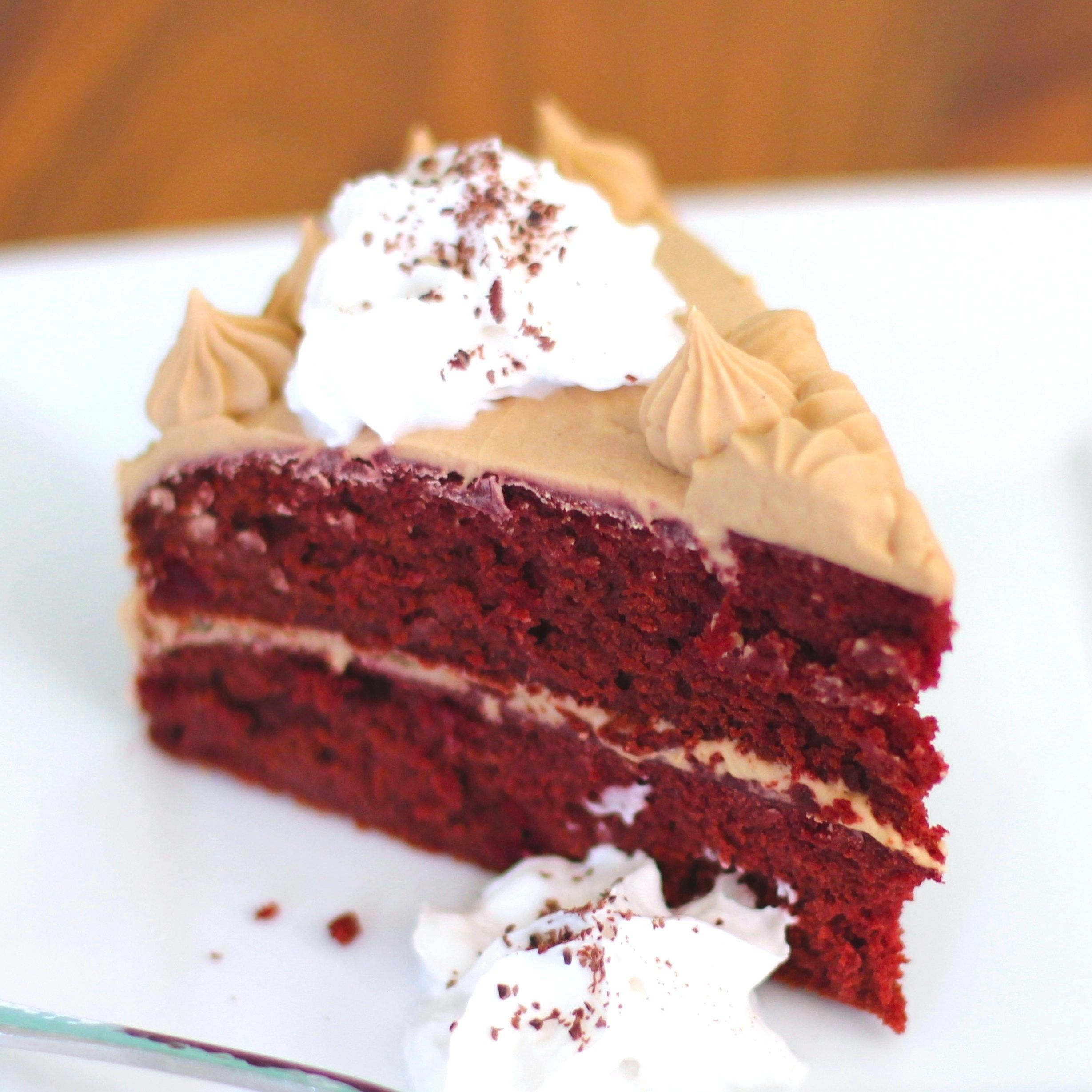 Healthy Red Velvet Cake With Cream Cheese Frosting Recipe
