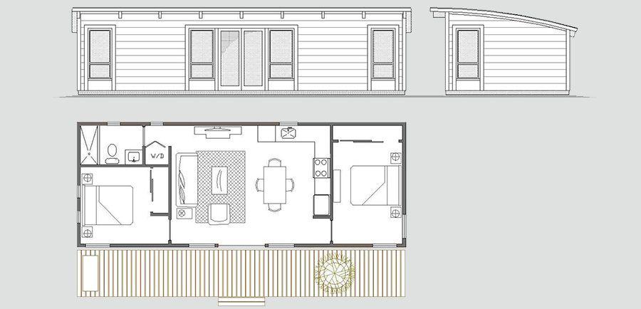 Maxwell Prefab Cabins Small House Plans Modular Home Floor Plans