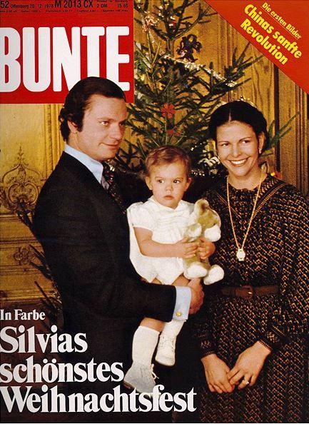 1978: König Carl Gustaf von Schweden mit Familie