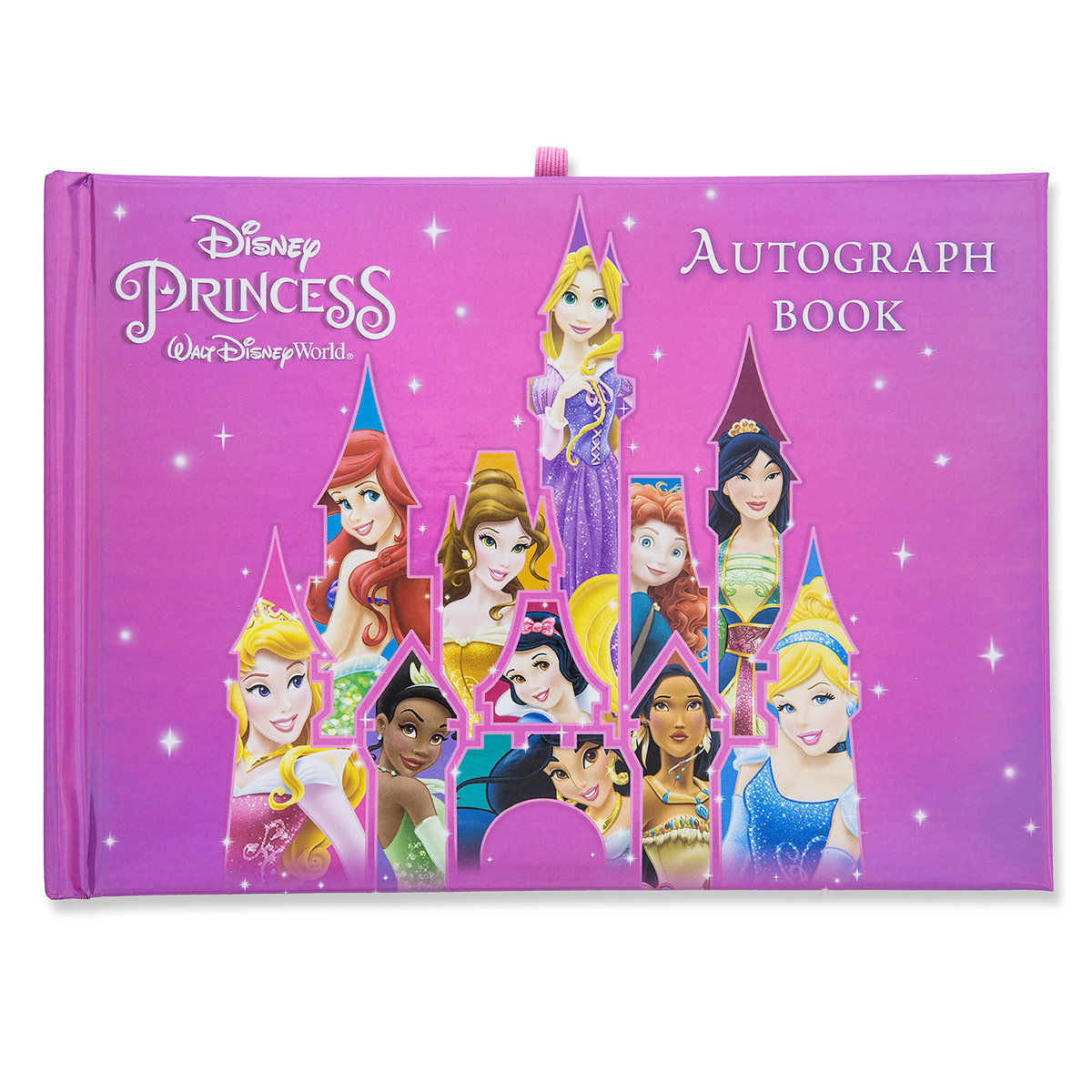 New Disney World Disneyland Resort Princess Deluxe Autograph Book Park NIP