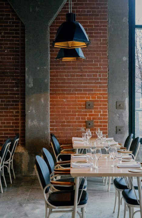 Montreal factory transformed into restaurant inspired by nordic design