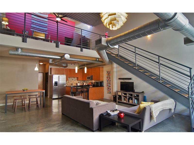 Crazy cool loft decor