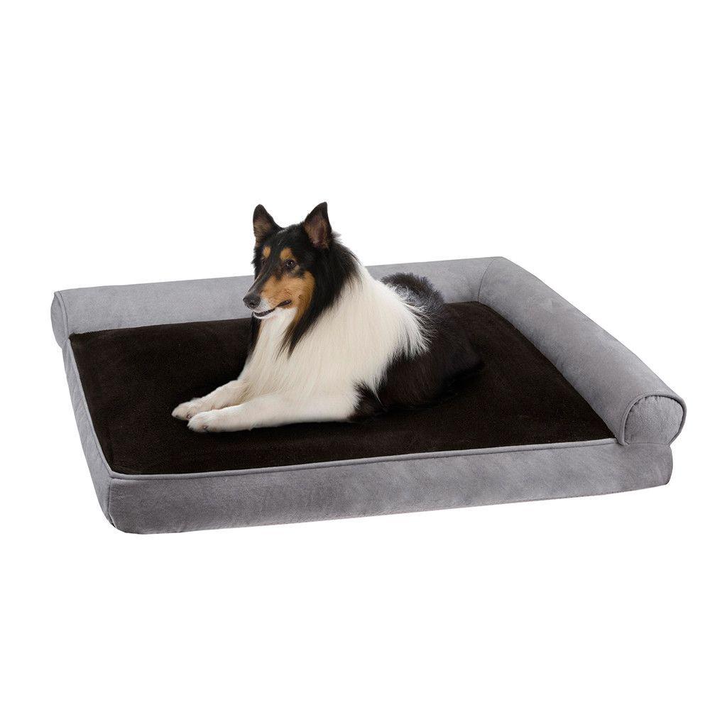 Duke Right Angle Bolster Lounger Dog Bed
