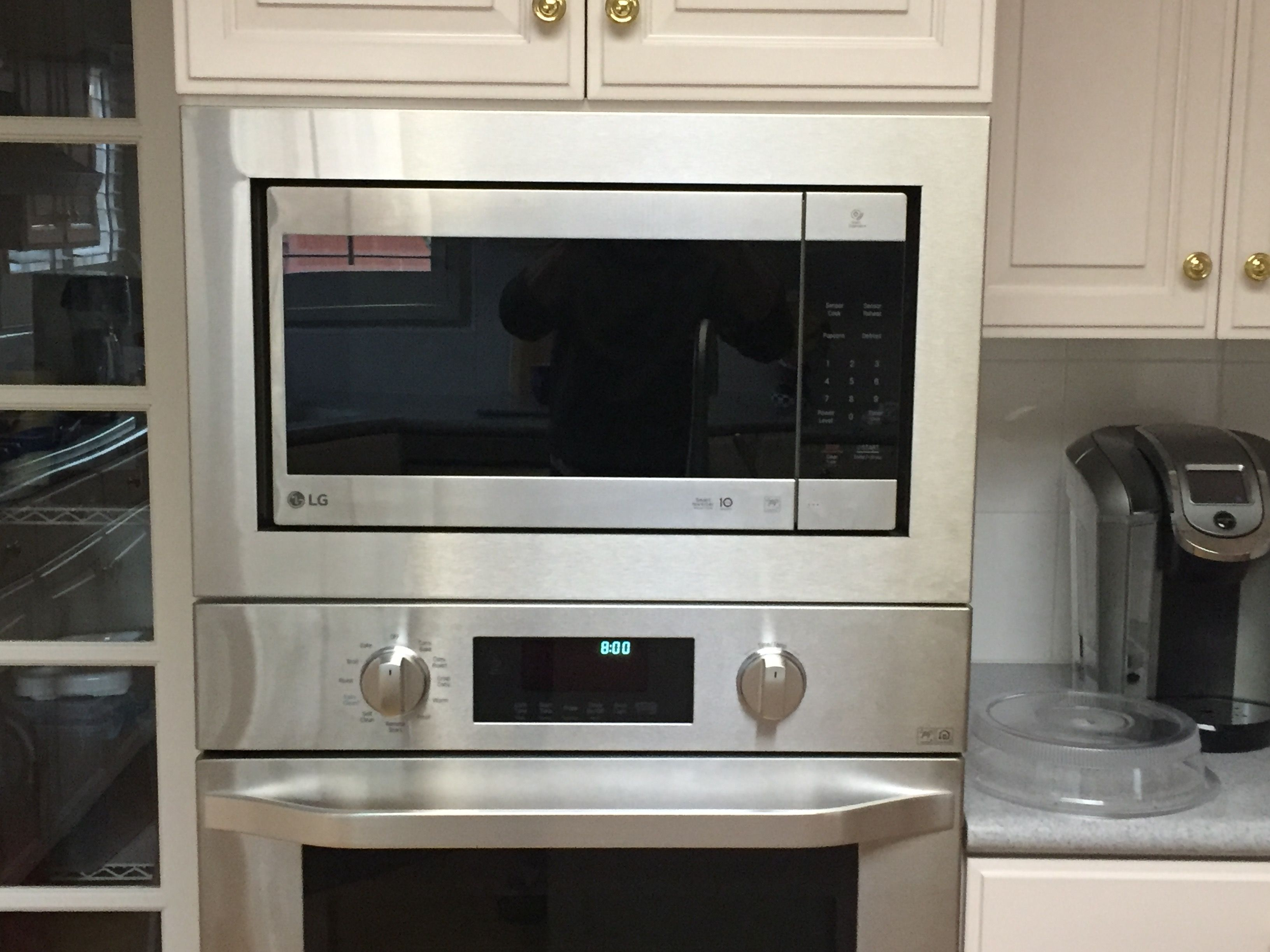 Custom Trim Kit For A Lg Microwave