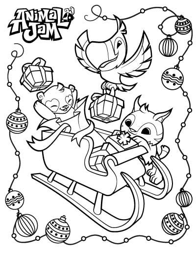 Animal Jam Coloring Pages Animal Jam Coloring Pages