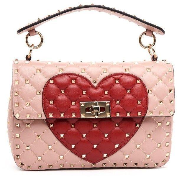 Spike Heart purse Valentino DESKpvc