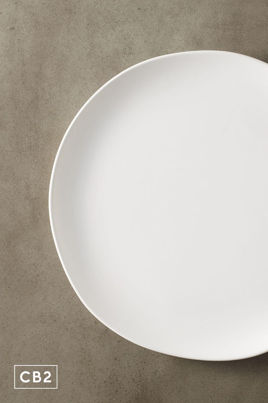 Crisp White Ceramic Dinner Plate Reviews Cb2 Dinner Plates White Ceramics Plates