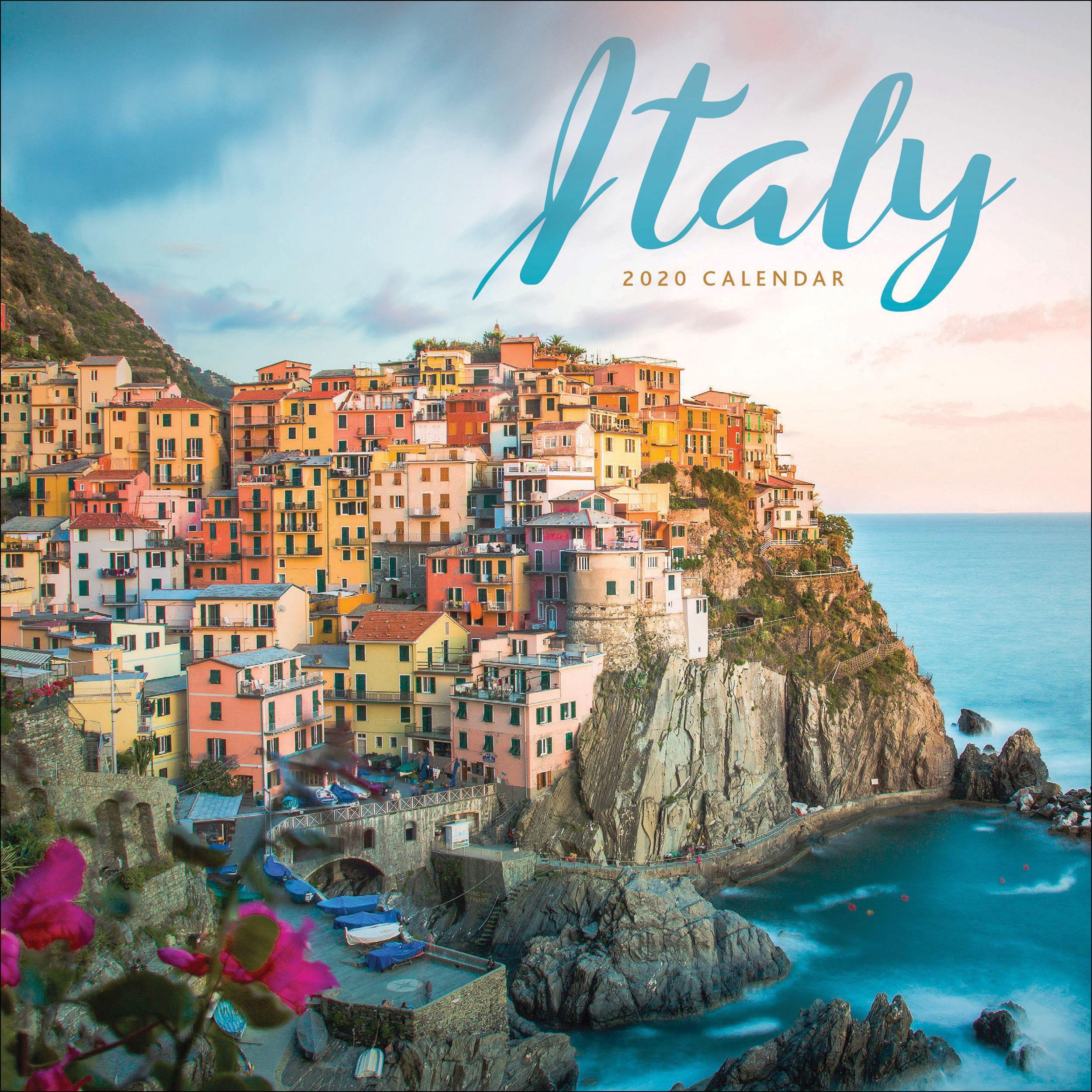 Italy Mini Calendar 2021 At Calendar Club Mini Calendars Italy Coastal Towns