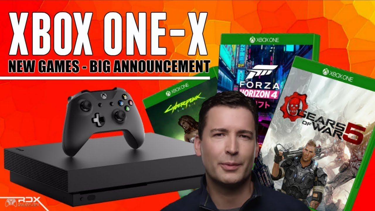 Huge Xbox One X News E3 2018 Leaks Gears Dev Done March Games With Gold Ps4 News Rdx March 2018 Games With Gold Gears O Xbox News New Ps4 News Games
