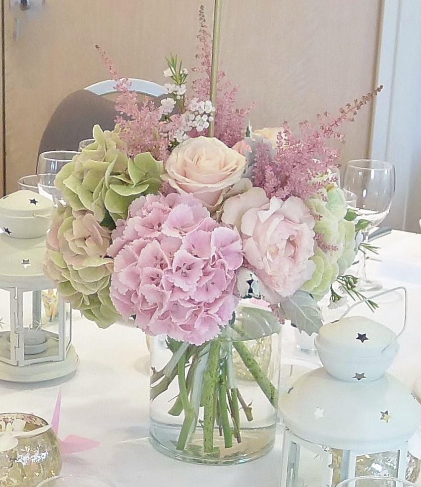 Centre De Table Bouquet Chez Fleur Decoration De Table De Mariee