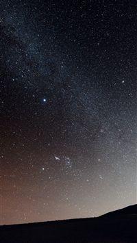 Milky Way Over Hill Iphone 7 Wallpaper Iphone 7 Wallpapers Wallpaper Best Iphone