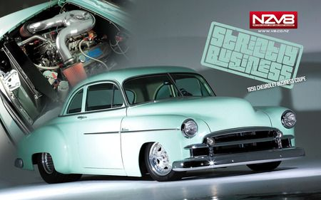 1950 Chevrolet Business Coupe Pro Street Chevrolet Wallpaper Id