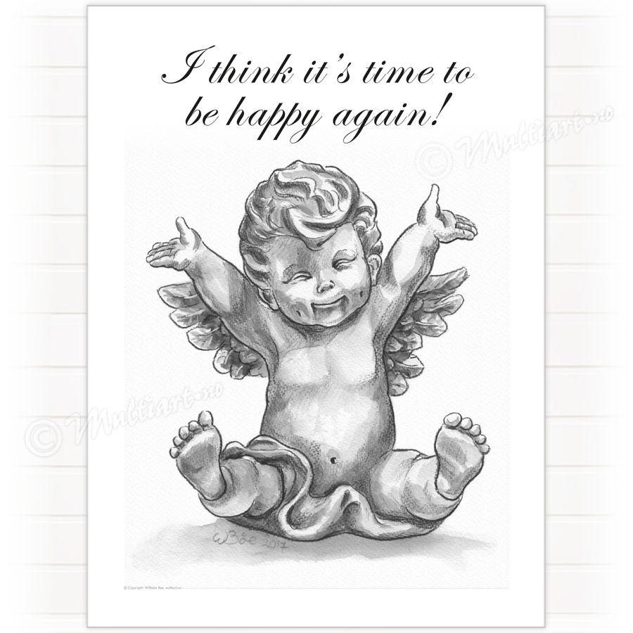Happy Cupid, poster plakat