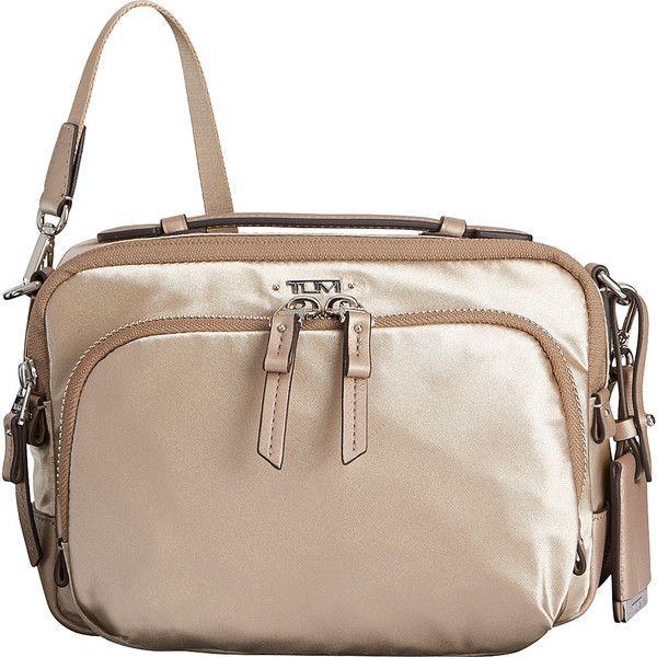Tumi Voyageur Luanda Flight bag Shoulder Bag (£135) ❤ liked on Polyvore  featuring bags cd848cdb09231