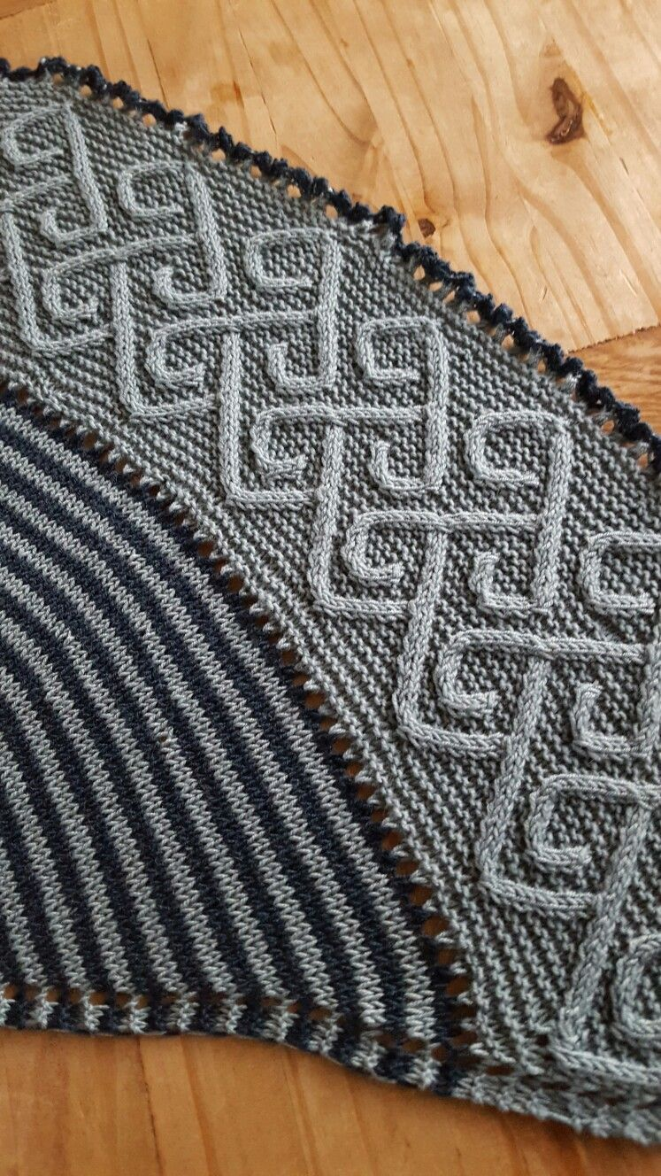 Celtic cable shawl design by lucy hague carradal beautiful celtic cable shawl design by lucy hague carradal bankloansurffo Image collections