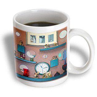 3dRose Merry by Angelandspot Ceramic Mug 11-Ounce