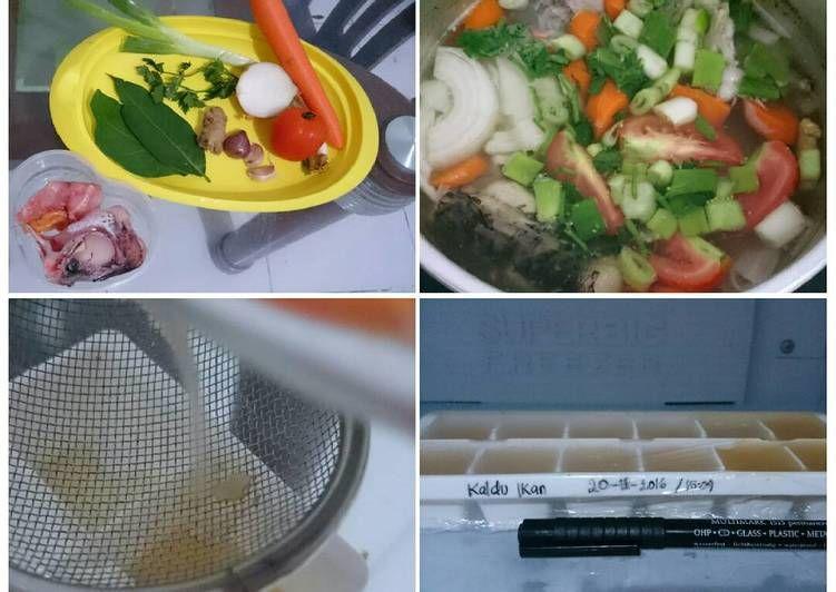 Resep Mpasi Kaldu Ikan Oleh Eva Vidya Resep Resep Makanan Bayi Makanan Bayi Makanan