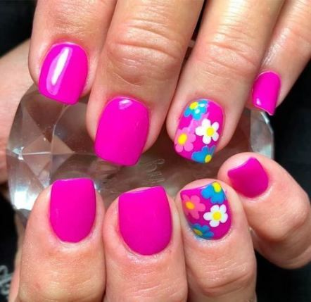 dip powder nails summer glitter 34 ideas in 2020  dipped