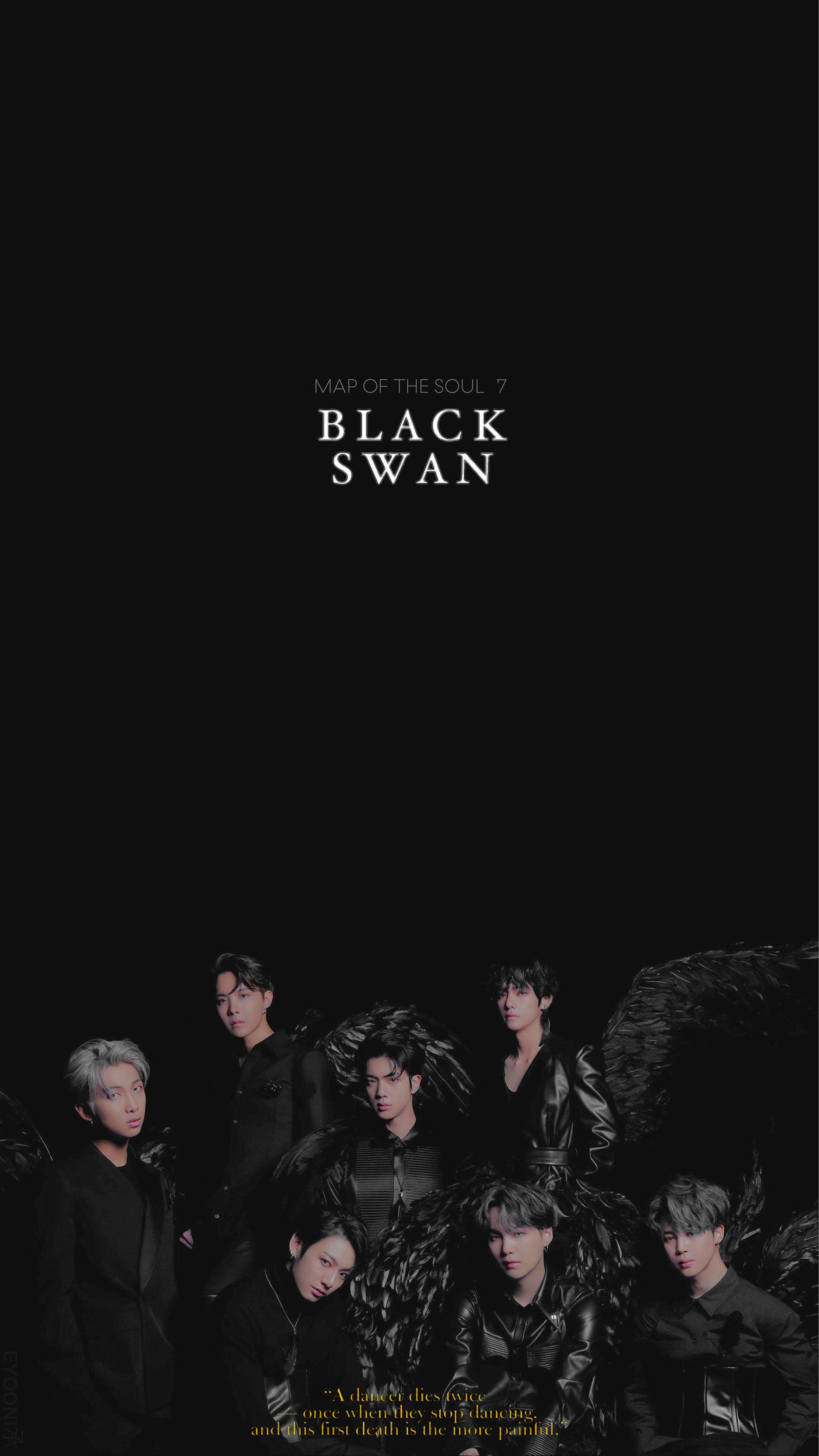 Black Swan Wallpaper Bts Komik Seyler Komik Bts black swan wallpaper download