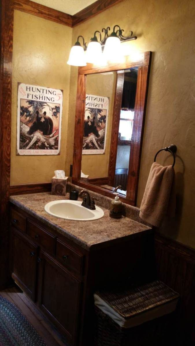 Bathroom Remodel Ideas For Manufactured Homes gorgeous rustic cabin manufactured home remodel | remodel bathroom