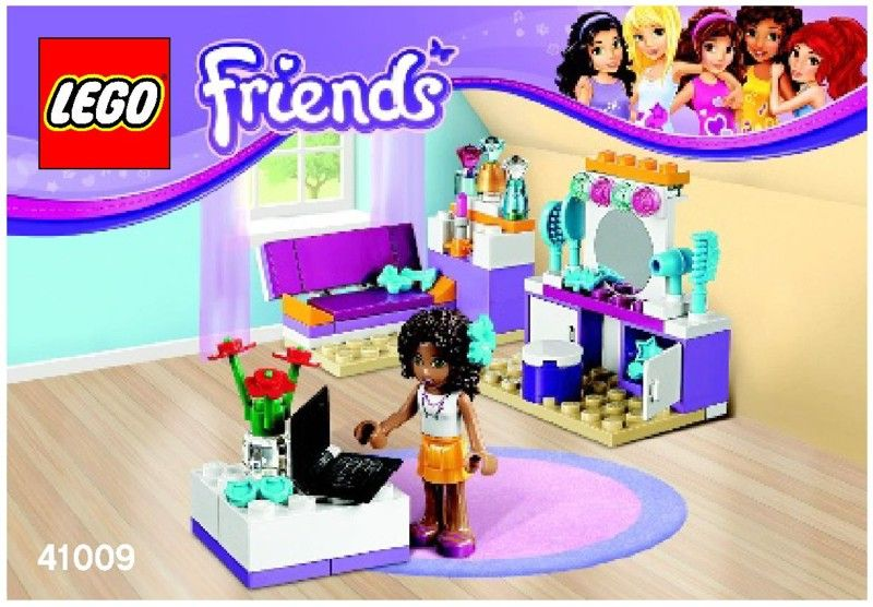 Friends - Andrea's Bedroom Instructions | Legos | Pinterest | Legos ...