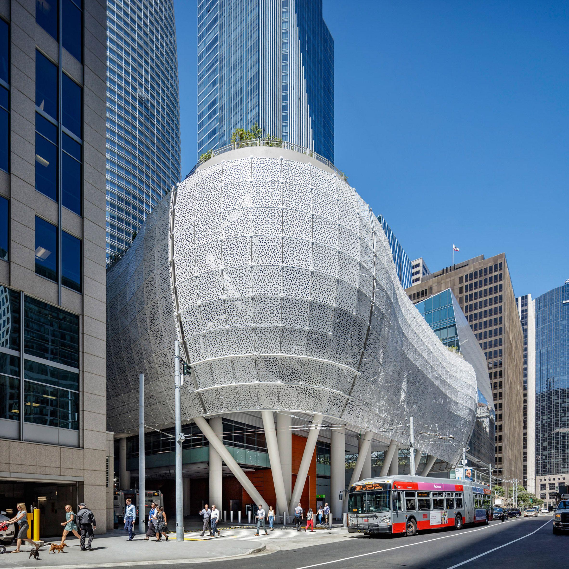 Cracked Beam Forces Closure Of Salesforce Transit Center In San Francisco Bienal De Arquitectura Grandes Arquitectos San Francisco