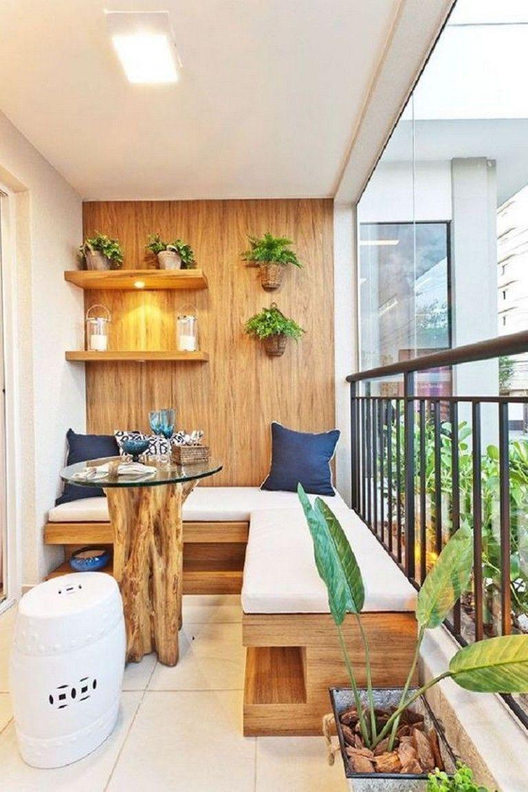 17+ Elegant small balcony ideas for limited space #balcony