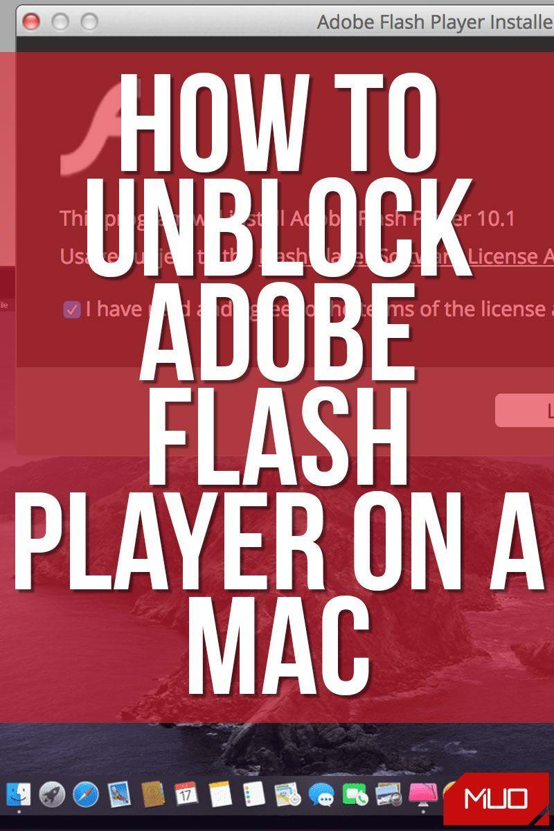 How To Unblock Adobe Flash Player On A Mac Mac Flash Mac Os