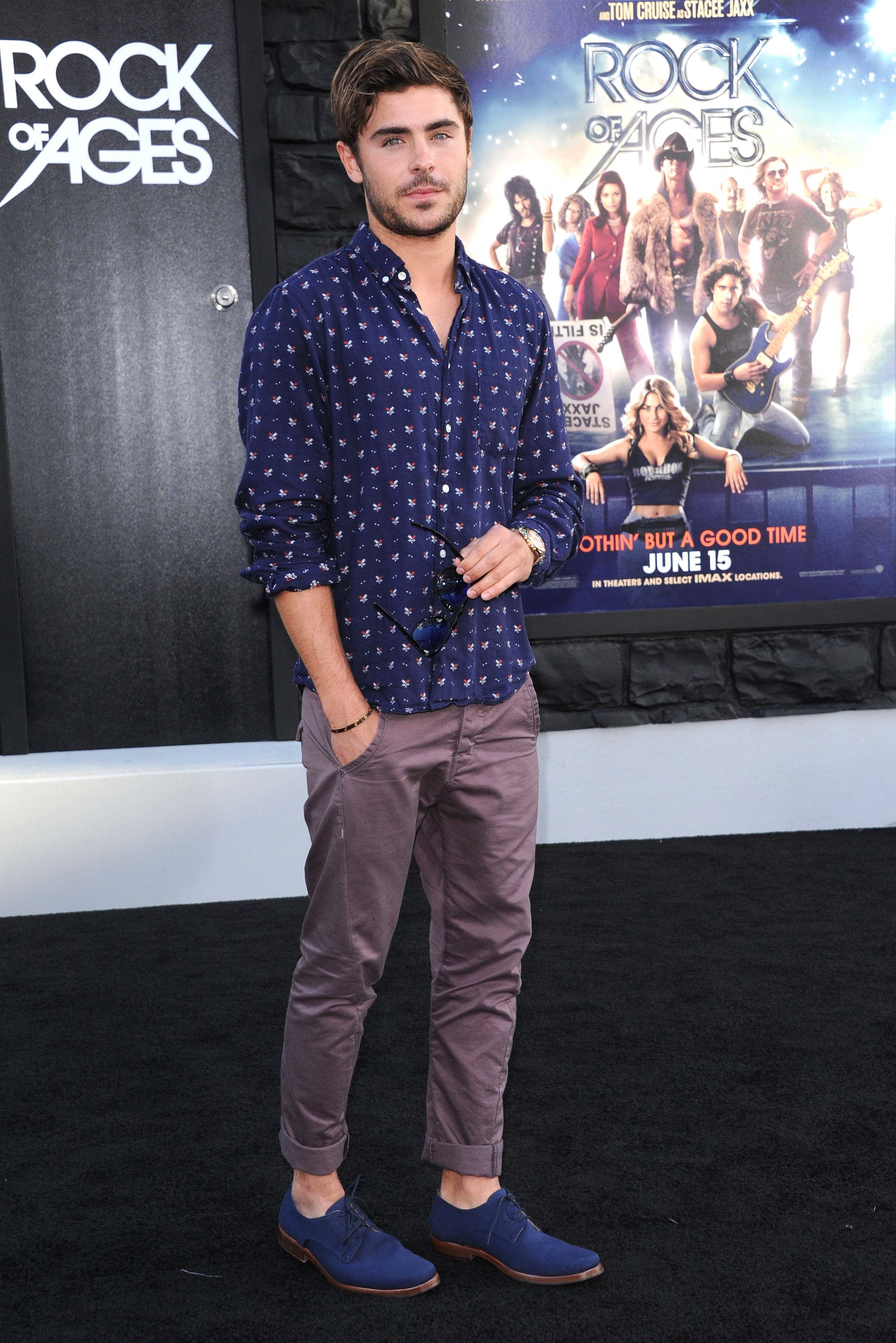 61e07330d560 15 Male Celebrities Fashion Trends for Summer 2017 - Some men were actually  born lucky.