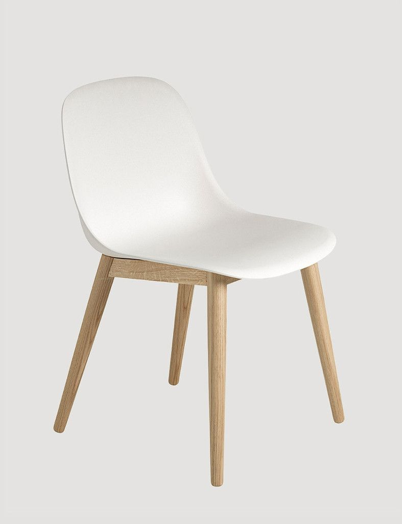 Keuken Stoel Muuto Fiber Side Chair Wood Base Keuken Chair Side