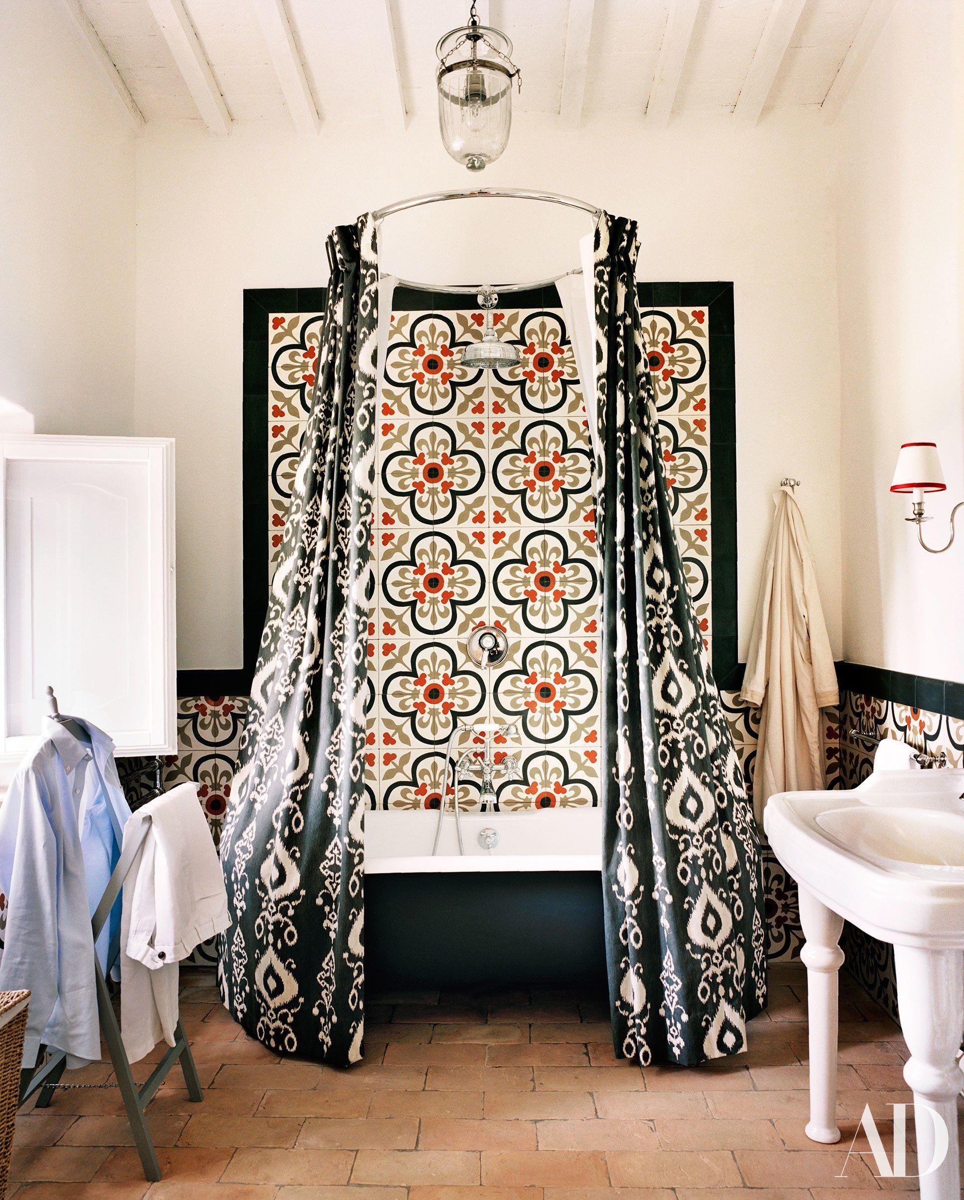 Peek Inside This Gorgeous Getaway Tuscan Decorating Best Bathroom Designs Bathroom Design