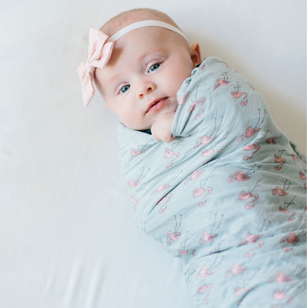 Bamboo Swaddle Blanket For The Babies Swaddle Blanket