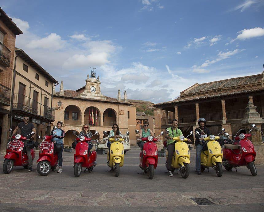 Spain Vespa Singles Trips Europe Small Group Adventure Flash Pack