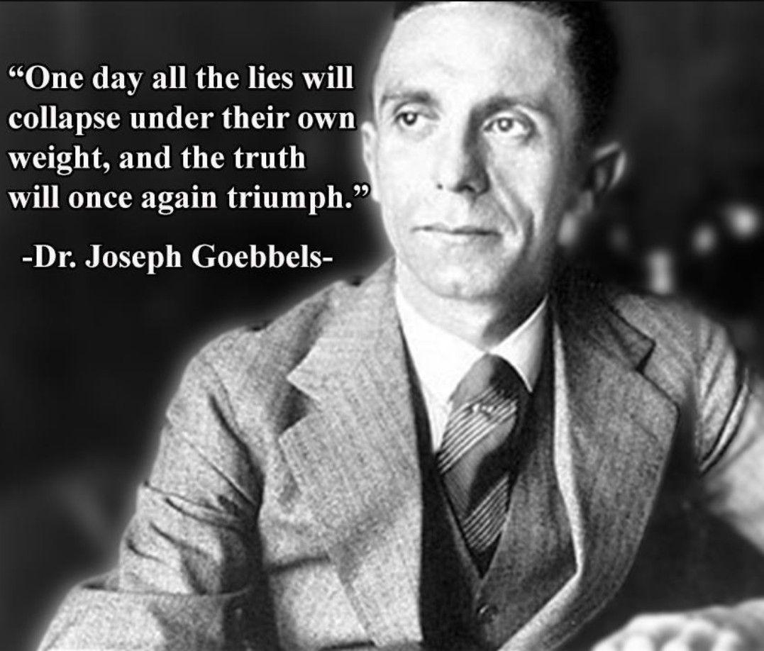 Ww2 Quotes: Joseph Goebbels Quote.