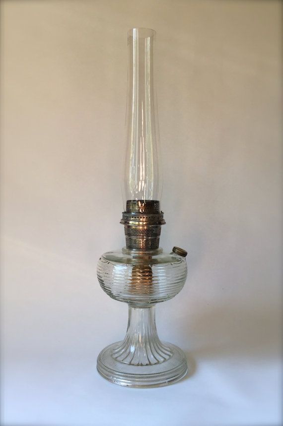 Vintage Oil Lantern Antique Kerosene by HoneyBeeHillVintage