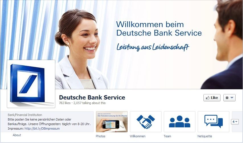 Deutsche Bank Taps Social Customer Care Banking [Twitter