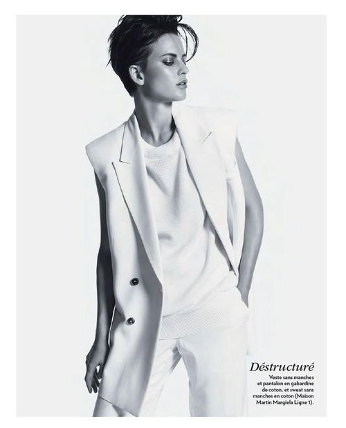 Ellinore Erichsen for Marie Clarie France January 2013. #ItJustWorks     (photo via fashion-mags.com)