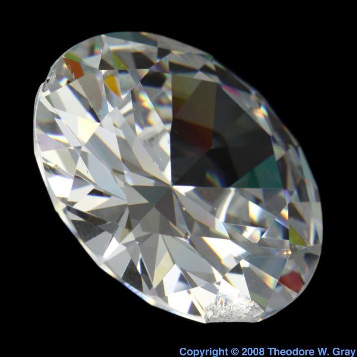 Gem cut zirconium oxide cubic a fine example of fake diamond gem cut zirconium oxide cubic a sample of the element zirconium in the periodic table urtaz Images