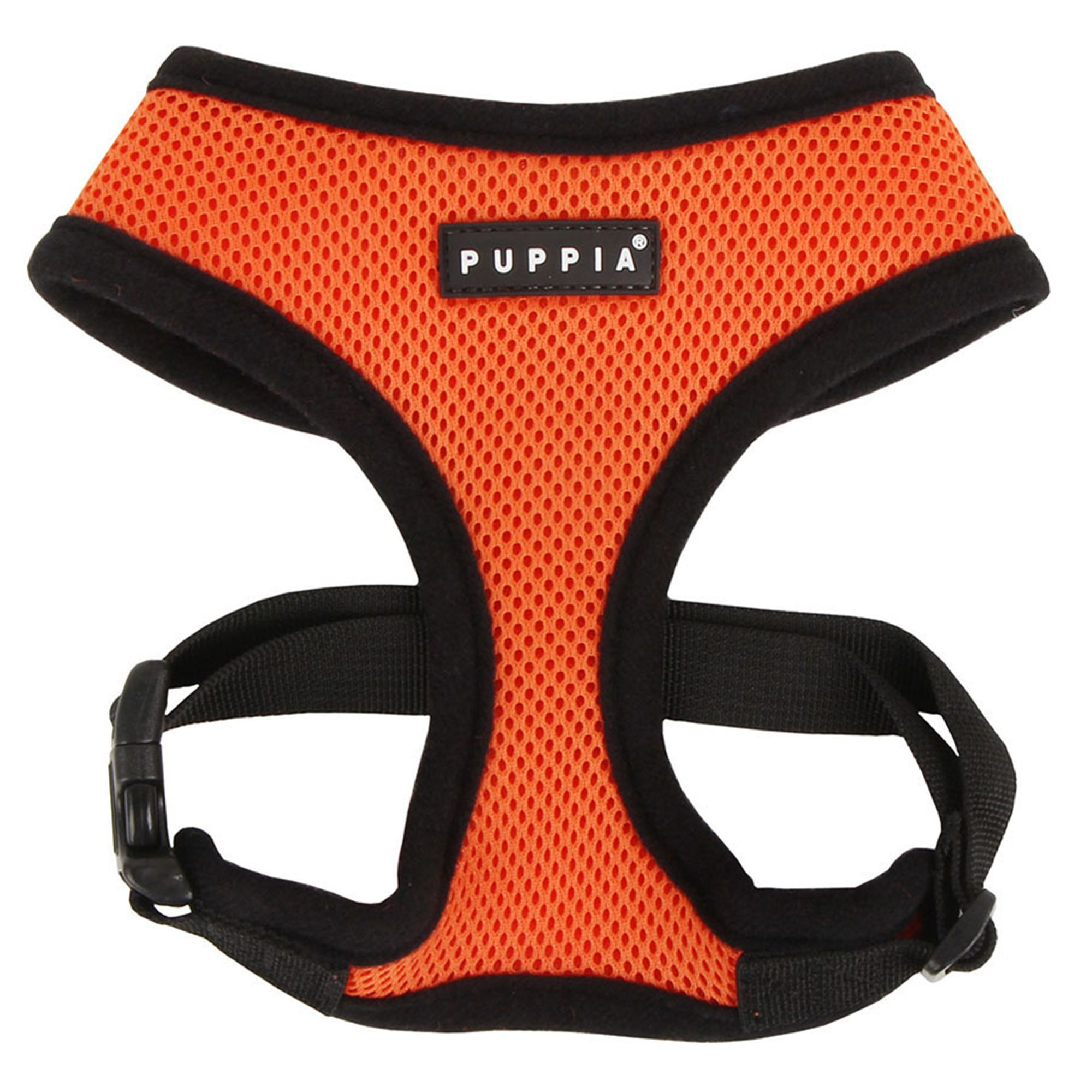 Puppia Soft Adjustable Dog Harness size X Small, Orange