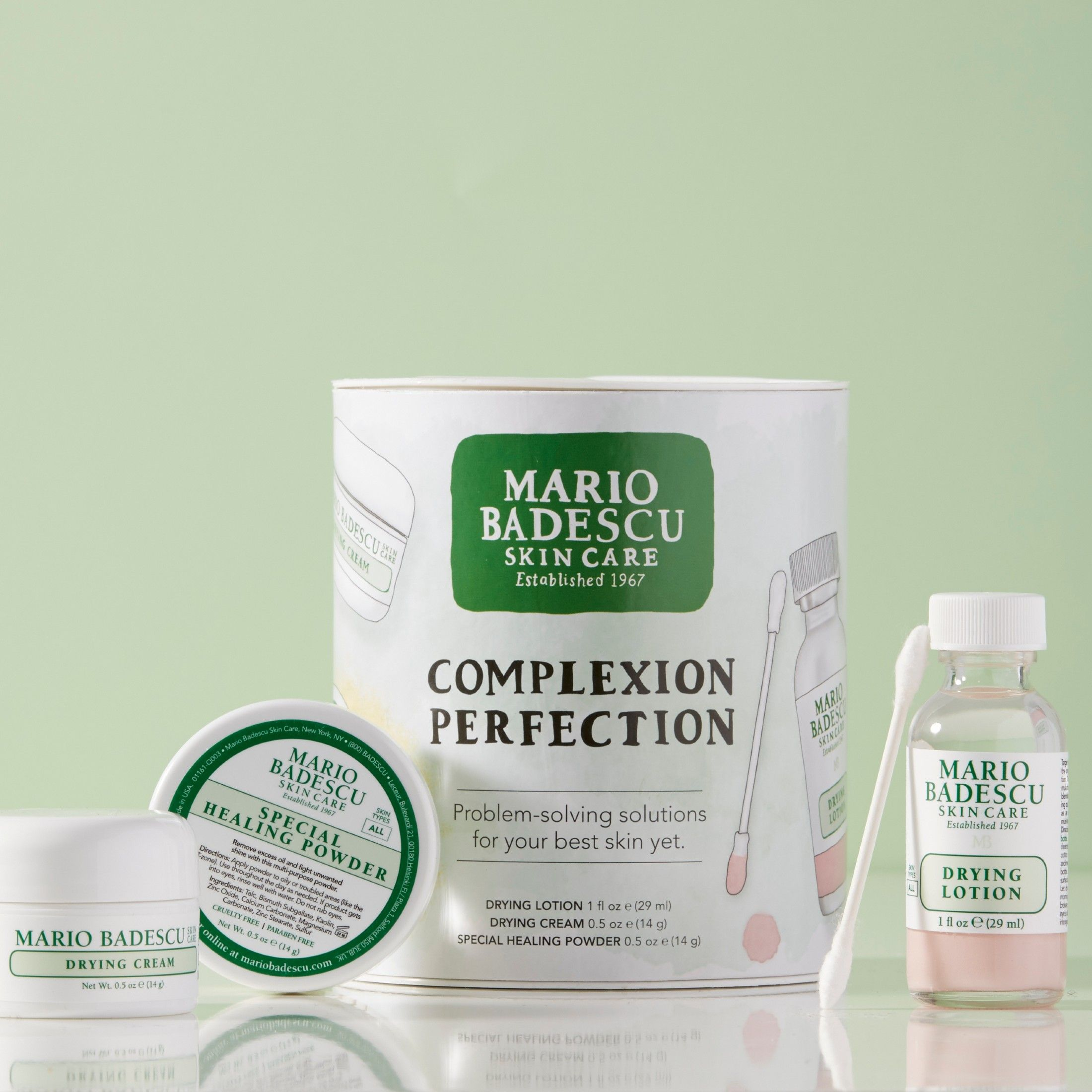Achieve Complexion Perfection With This Urban Outfitters Exclusive Trio Drying Lotion Your Ov In 2020 Mario Badescu Skin Care Skin Care Lotions Perfect Complexion