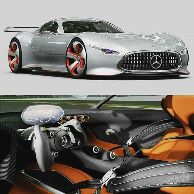Mercedes Benz Vision GT 👌😈 Follow 👉 @motivatedhustle For Motivation. $$  Want To Learn How To Make Money On Instagram Click The Profile Link ASAP!!