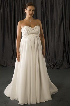 Custom plus size wedding gowns for fuller figured women by Darius BridalCustom plus size wedding gowns for fuller figured women by Darius   of Plus Size Maternity Wedding Dresses