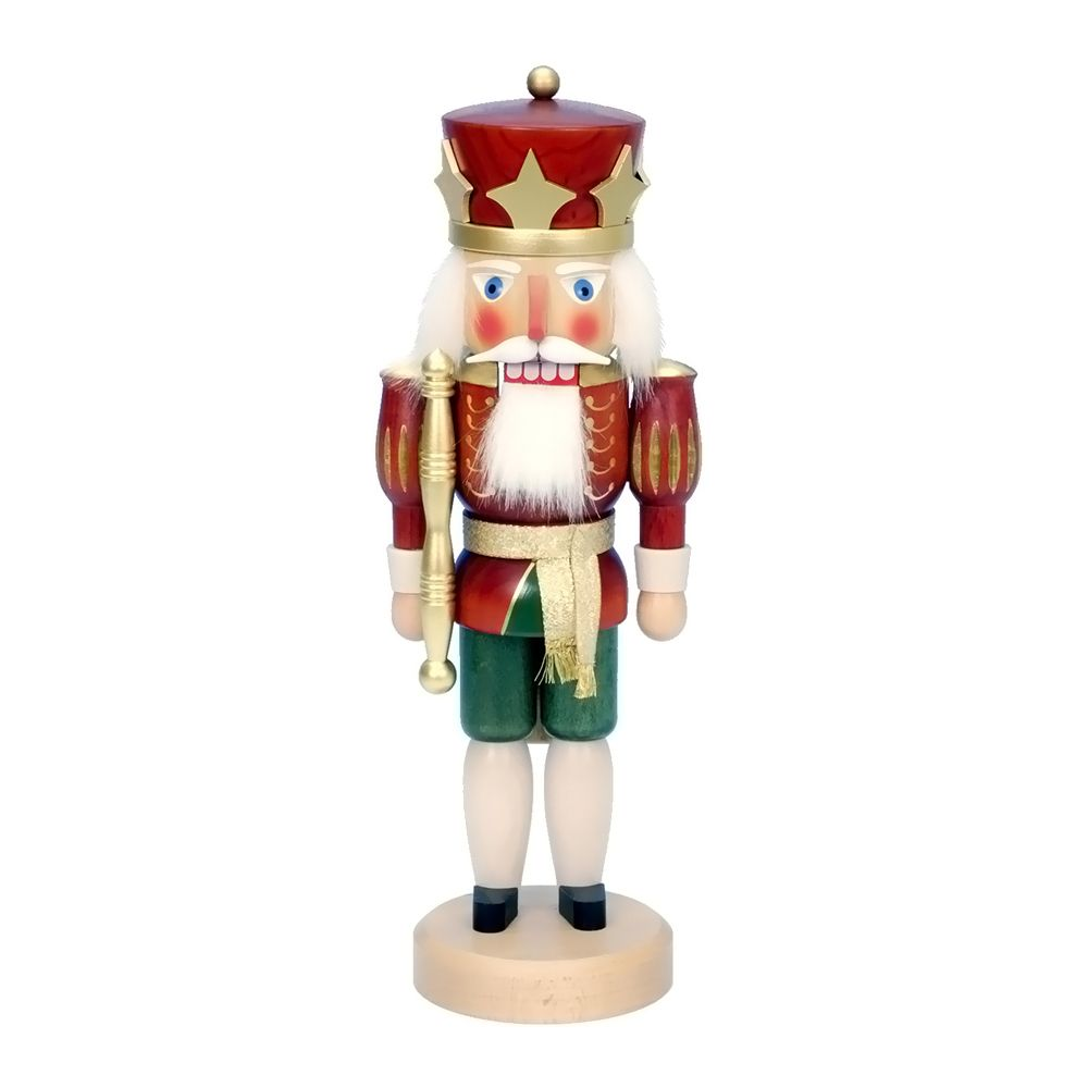 """awesome Christian Ulbricht Nutcracker - Red King -1Christian Ulbricht Nutcracker - Red King - 15""""""""H X 5.5""""""""W X 5""""""""D Check more at http://christmasshortstory.com/product/christian-ulbricht-nutcracker-red-king-1/"""