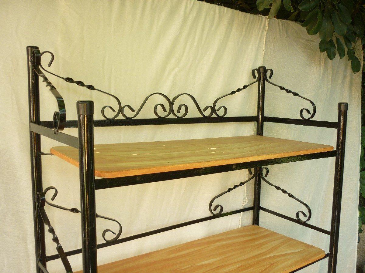Resultado de imagen para muebles de hierro y madera | Cosas ...
