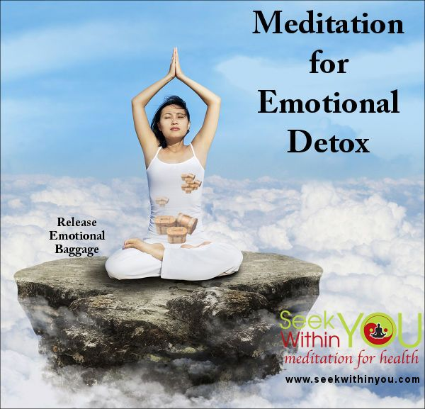 "Yes, it is true! Meditation can help you heal emotionally from the past through a process of ""emotional detoxing"". Emotions from past relationships, fearful events, etc. that you have stored away can be released with a daily meditation practice."