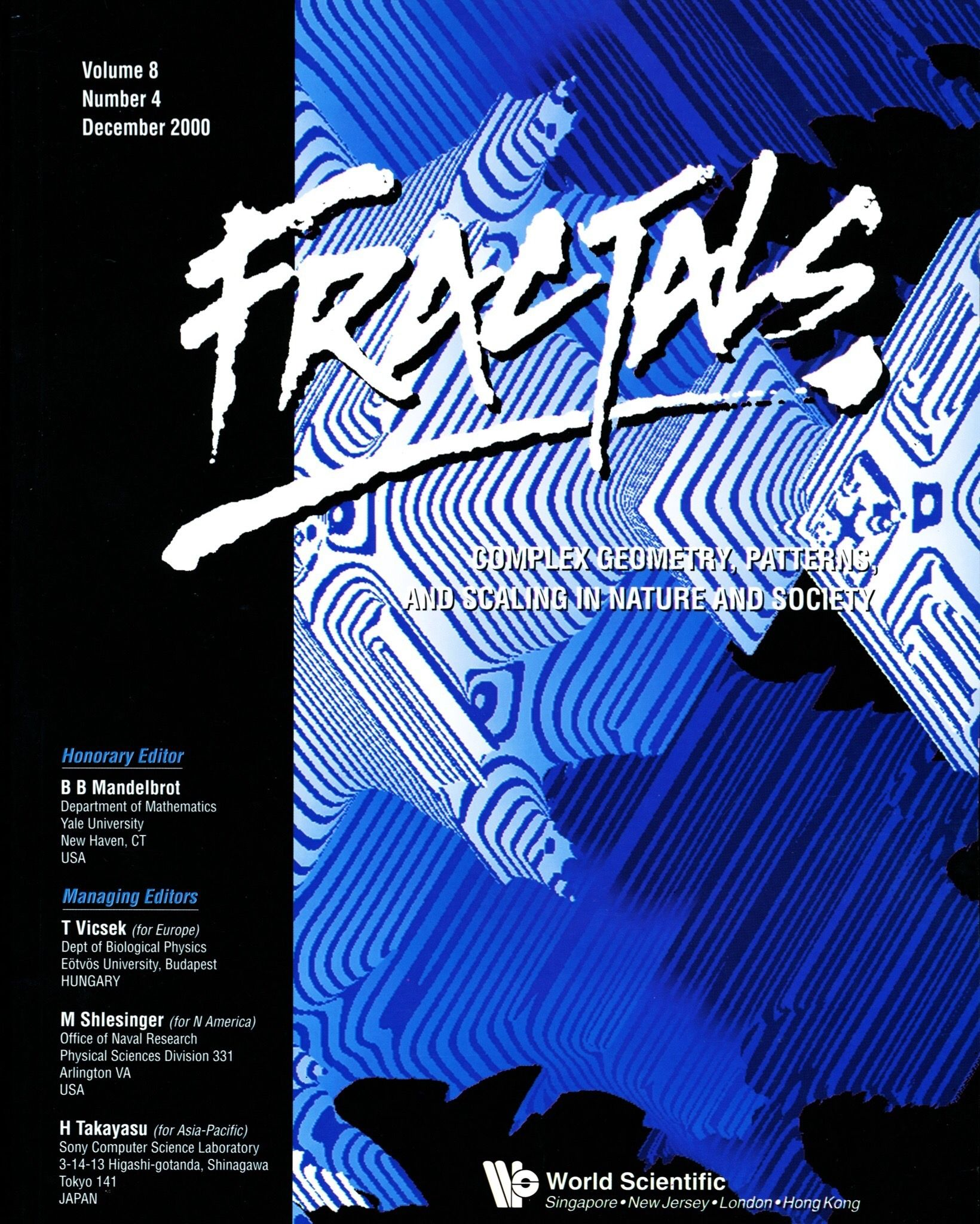 Rochon's Tetrabrot featured on Fractals Magazine's Front