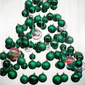 hanging ornaments tree christmas trees pinterest ornament tree