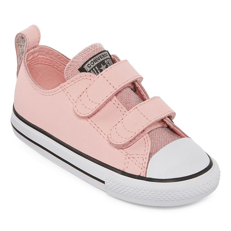 048133f2e244 Converse Chuck Taylor All Star 2v Ox Girls Sneakers - Toddler ...